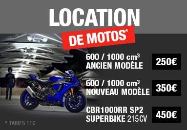 Location de motos de piste